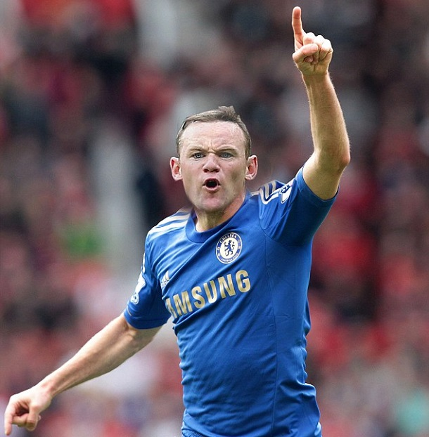 Wayne Rooney Chelsea IFm WHAT IF Wayne Rooney signed for Chelsea in summer Chapter